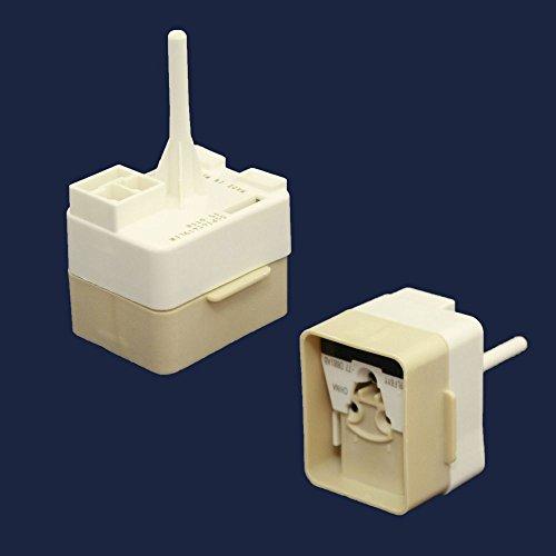 Whirlpool W67002783 Refrigerator Compressor Overload and PTC Start Relay Genuine Original Equipment Manufacturer (OEM) Part