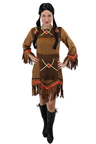 Dress Me Up - Costume da Donna Indiana Squaw L029 Taglia S