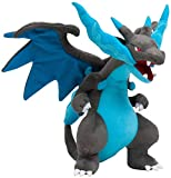 Callibrio Mega Charizard X Plush Toy - Perfect Large Stuffed Dragon Plush Toy - Large Size - 10 Inches