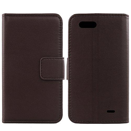 Gukas Design Echt Leder Tasche Für Blackview P6000 5.5