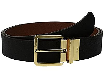Lauren By Ralph Lauren Reversible Belt (L, Black/Tan)
