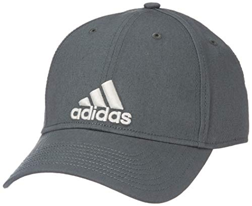 adidas Six-Panel Classic Baseball-Cap, Legend Ivy/Raw White, FR Unique (Taille Fabricant : OSFL)