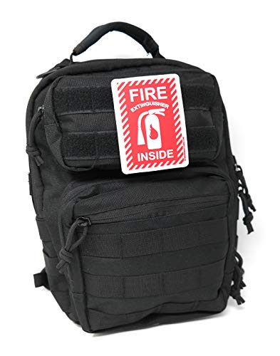 Fire Extinguisher Inside PVC Tactical Patch