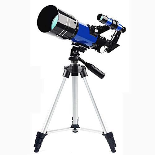 TOPQSC telescopio astronomico 150x-15x,portatile telescopio per bambini 70 mm telescopio pacchetto di lusso telescopio da viaggio miglior regalo per bambini, ragazzi, adolescenti