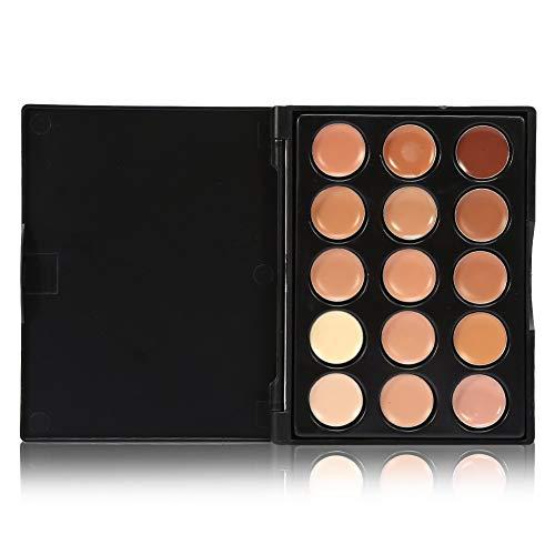Anti-cernes 15 couleurs anti-cernes professionnels contour du visage maquillage crème contour des yeux crème cosmétique (Couleur : #3)