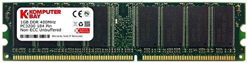 Komputerbay 1GB PC3200 Speichererweiterung für DELL Dimension 1100, 2400, 3000, 8300, B110, Op ...