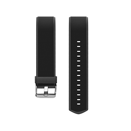 Vigorun Fitness Tracker Straps Ersatz Armbänder YG3 Plus HR Activity Tracker (Schwarz)