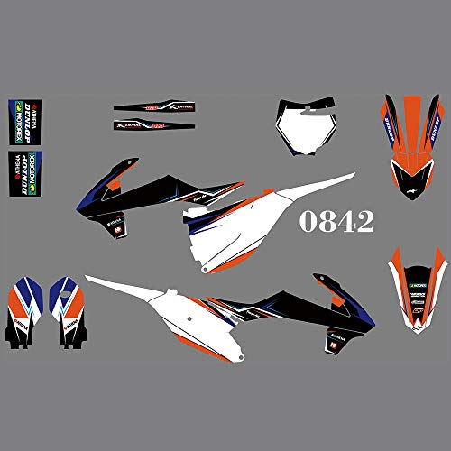 DST0842 MXP Graphics Customized Motocross Stickers Dirt Bike Decals Kit for KTM SX85 2018 2019