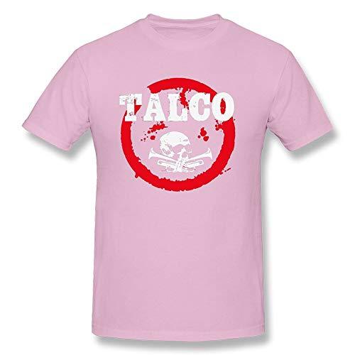 Men T Shirts Ska Punk Talco T-Shirt Trombone Skull Tshirt Street Rapper Tops Funky Cotton Navy Tees Skulls Clothes
