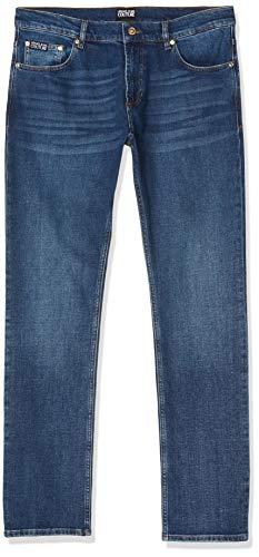 Versace Herren Pantalone Uomo Hose, Blau (Blue Indigo 904), 32 (Herstellergröße: 38)