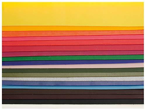 Glorex verzierwachs Set, 20 Stück, bunt, 200 x 40 mm - 3er Packung