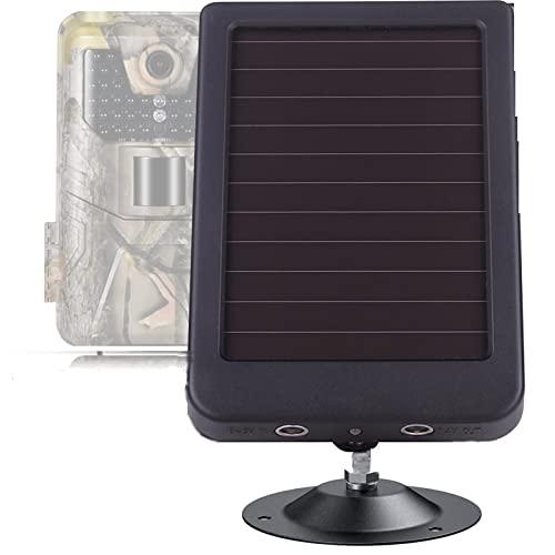 Panel solar al aire libre 3000mAh 9V Batería del cargador de la fuente de alimentación solar for HC300 HC500 HC700 HC801 HC- 900 Cámaras de sendero