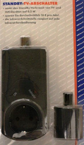 Düwi 027409 Standby-TV-Abschalter schwarz