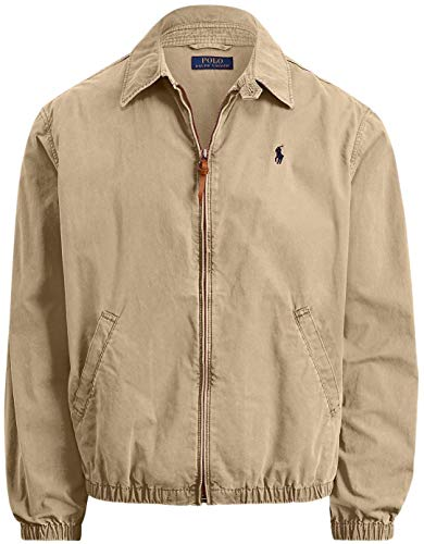 Polo Ralph Lauren Bayport Cotton Jacket, LuxuryTan, XXL