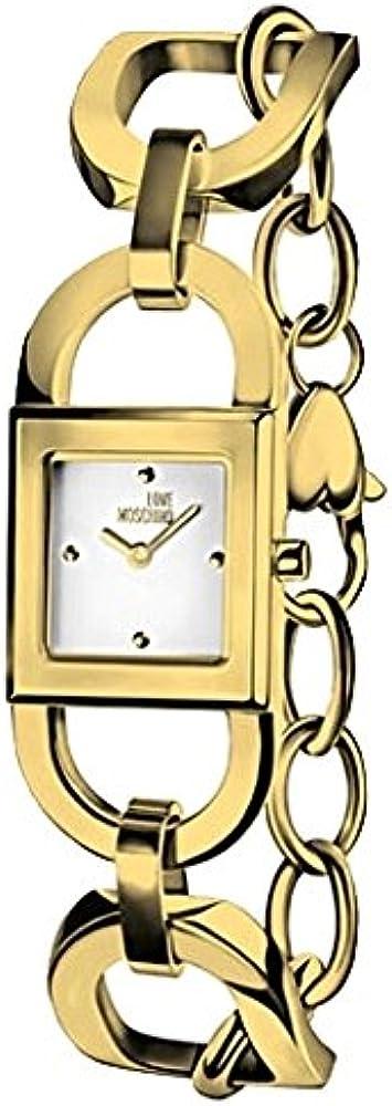 Moschino orologio da donna in acciaio inossidabile MW0478