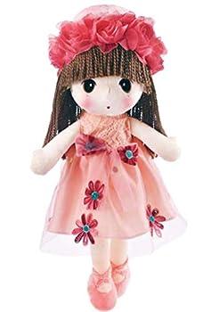 HWD Kawaii Flower Fairy Stuffed Soft Plush Toy Doll Girls Gift  18 Inch   Pink