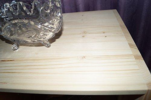 2in1 Regal Sideboard Bücherregal Schrank Wohnwand aus Massiv Fichte 120x64x40cm geschliffen Made in Germany - 6