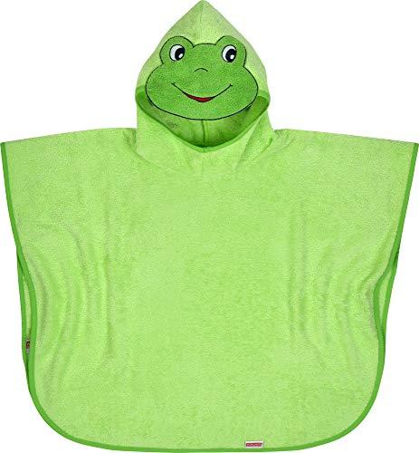 WÖRNER Le poncho de bain grenouille poncho, vert