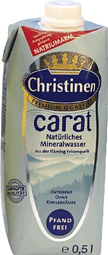 Christinen Carat Natürliches Mineralwasser/903019 Inh.0,5 l