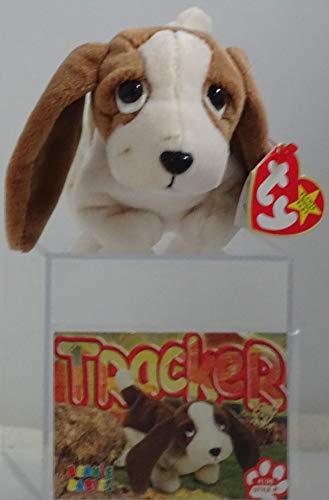 BEANIE BABIES Ty, Tracker The Basset Hound Dog