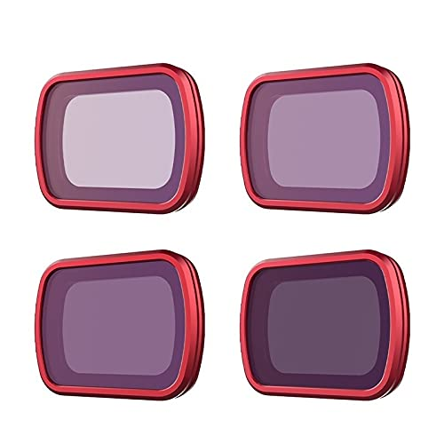 YXYX Accessori droni for D&Ji Pocket Filtri ND8 16 32 64 Set Filtro Professionale ND8 ND16 ND32 ND64 ND 64 PL NDPL Osmo. (Color : ND8 16 32 64)