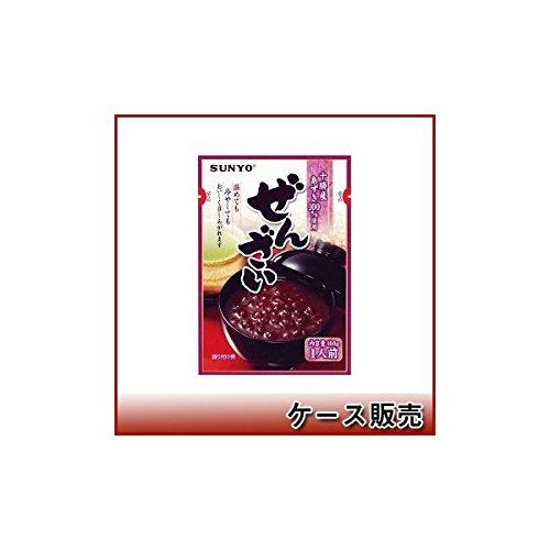 サンヨー堂 ぜんざい 十勝産小豆100%使用 160g × 10袋