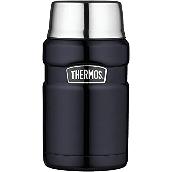 THERMOS Stainless King Vacuum-Insulated Food Jar 24 Ounce Midnight Blue