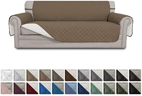 Best Easy-Going Sofa Slipcover Reversible Sofa Cover Water Resistant Couch Cover Furniture Protector with