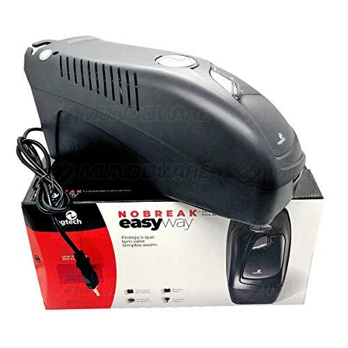 Nobreak Ragtech EasyWay CB-T 4141 1200VA 600W Engate de Bateria Externa Bivolt 3 em 1 Estabilizador + Filtro + UPS
