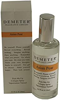 Demeter Asian Pear Pick-me Up Cologne Spray for Women, 4 Ounce