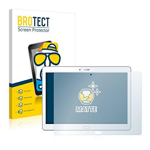 BROTECT 2X Entspiegelungs-Schutzfolie kompatibel mit Huawei MediaPad M2 10 Bildschirmschutz-Folie Matt, Anti-Reflex, Anti-Fingerprint