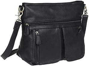 Allison Camera Bag with Dual Front Pouches (Black), black, Size No Size
