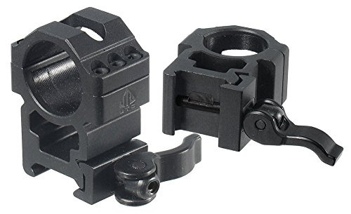 UTG 1'/2PCs High Pro LE Grade Picatinny QD Rings: 25mm Wide