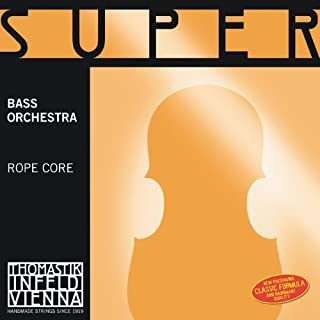Thomastik-Infeld 40 Super Flexible Double Bass Strings, Single Low C String, 4/4 Size, Steel Core, Chrome Wound