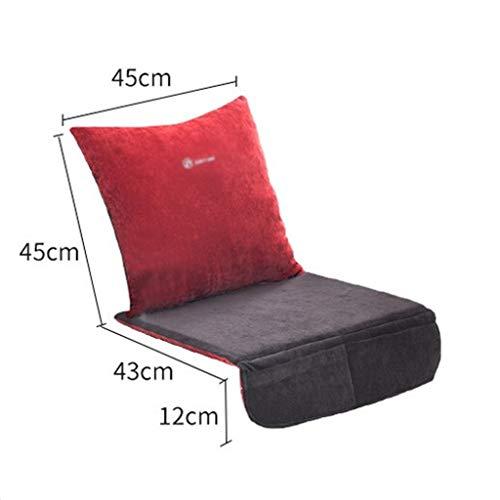 OCYE stoelverwarming voor bureaustoel/thuis, Deluxe Cord zitkussen verwarmd, instelbare temperatuur, timer, met tas