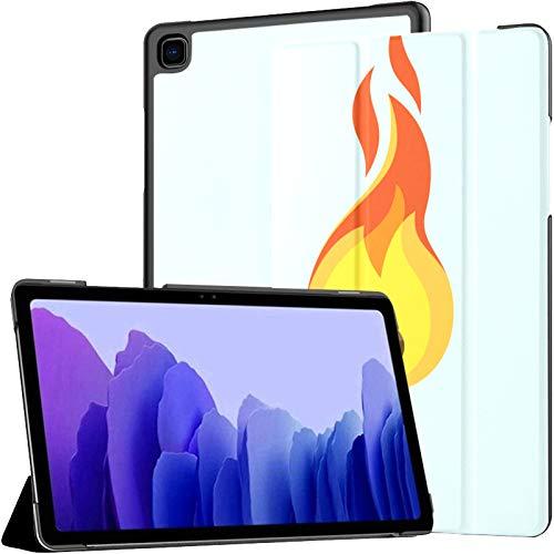 Samsung A7 Tablet Hülle Match Fire Burning Match auf Blaue Hülle Für Samsung Galaxy Tab A7 10,4 Zoll 2020 Release Schutzhülle Samsung Galaxy A7 Hülle Abdeckung Tablet Pu Ledertasche