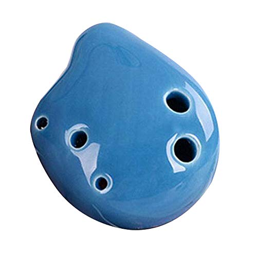 Vipithy 6 Loch Ocarina Sopran C Schlüssel Keramik handgemachte Mini Ocarina Flöte