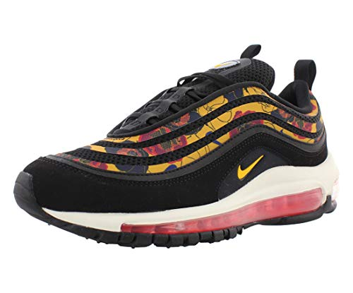 Nike W Air Max 97 Se, Scarpe da Atletica Leggera Donna, Multicolore (Black/University Gold/Sail 1), 38 EU