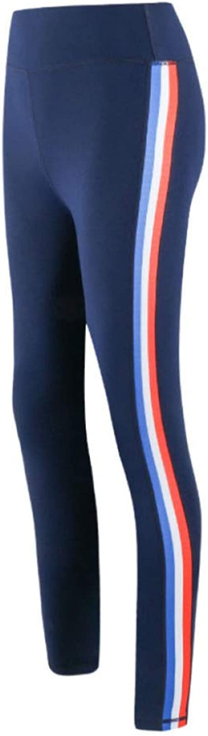 Women's Running Tights Long Workout Pants Sports Leggings Fitness Yoga Cycling Outdoor Gym Stretch Comfy Compression Quick Drying Slim