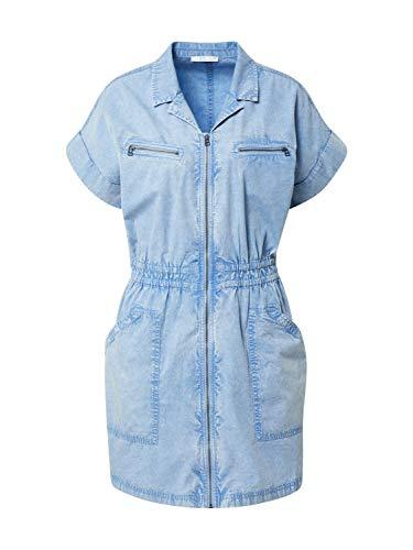 edc by Esprit Esprit Vestido, 440/LIGHT Blue, 42 para Mujer