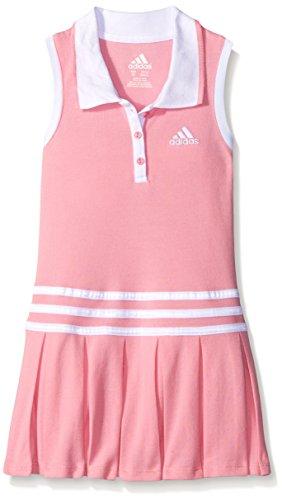 adidas Toddler Girls' Active Polo Dress, Semi Pink Glow, 4