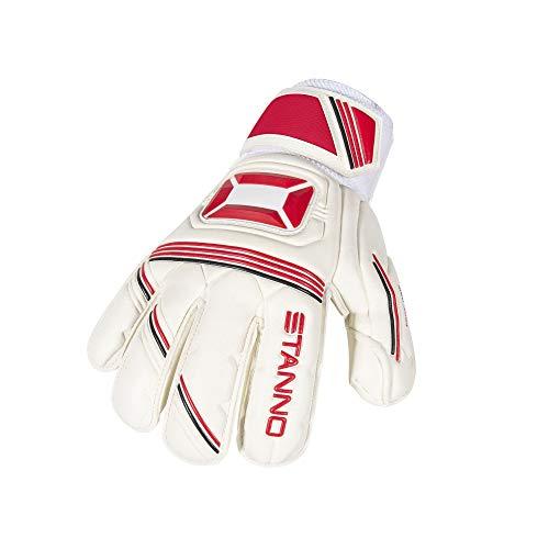 Stanno Ultimate Grip Junior Torwarthandschuhe Gr. 5 weiß/rot