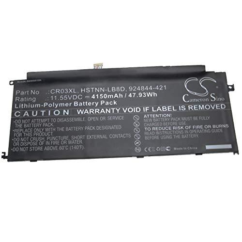 vhbw Akku kompatibel mit HP Envy x2 12-g050nz, x2 12-g051na, x2 12-g055nd Notebook (4.150mAh, 11,55V, Li-Polymer)