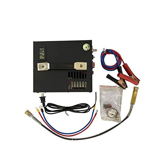 Compresor de aire portátil PCP portátil de 12V con transformador para pistola de aire inflable 12V / 220V