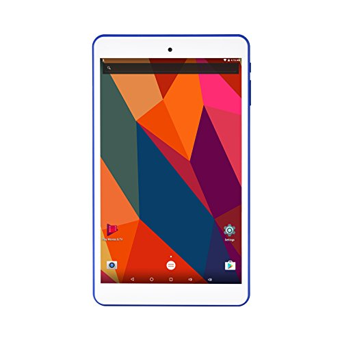 10.1 inch Android Tablet, Quad core Cortex A53, 2GB RAM, 32GB Storage, HD 1280800 IPS Display, Dual Camera 2.0+5.0MP, Android 6.0, WiFi, GPS, Bluetooth 4.0, FM (White)