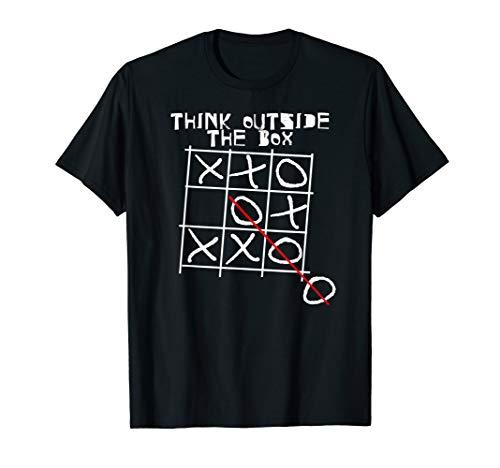 Think Outside The Box I Besonders I Einzigartig Tik Tak Toe