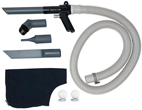 KS Tools 5155090 Air Comprimé Pistolet de soufflage pneumatique ventouse, 145 mm