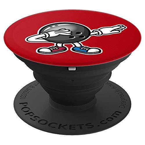 Lustig dab dabbing Bowlingkugel Bowling Ball Kinder Tanz - PopSockets Ausziehbarer Sockel und Griff für Smartphones und Tablets