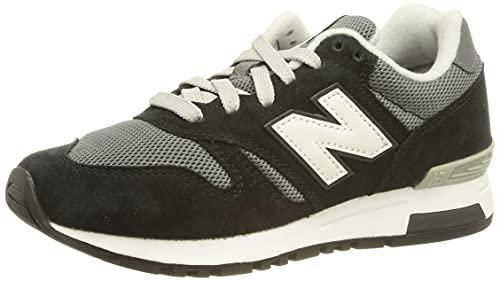 New Balance ML565V1, Zapatillas Hombre, Black Black White, 44.5 EU