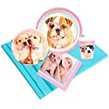 BirthdayExpress Rachael Hale Glamour Dogs Party Supplies - Party Pack for 24 Guests